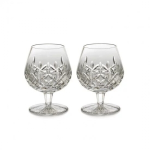 Waterford: Lismore Brandy Glasses, Set of 2