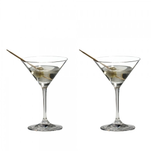 Riedel: Vinum Martini Glass, Set of 2