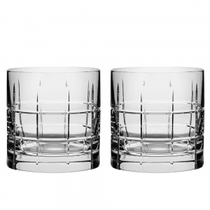 Orrefors: Street Double Old Fashioned Glasses, Set of 2