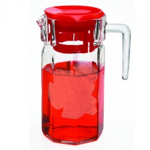 Circleware: 50-Ounce Lodge Pitcher, Red
