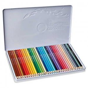 Colored Pencils, Set of 36