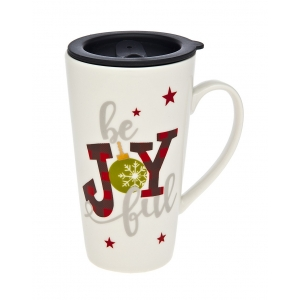 Godinger: Joy Travel Mug