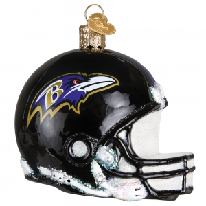 Old World Christmas: Baltimore Ravens Helmet