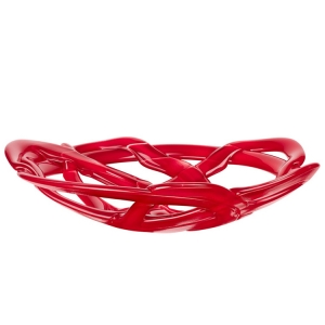 Anna Ehrner: Small Basket Bowl, Red