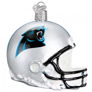 Old World Christmas: Carolina Panthers Helmet
