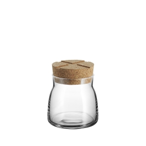 Anna Ehrner: Bruk Small Jar, Clear