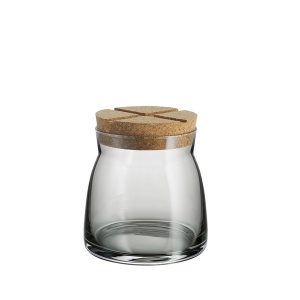 Anna Ehrner: Bruk Medium Jar, Grey