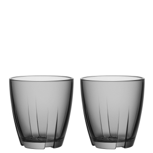Anna Ehrner: Bruk Grey Small Tumbler, Set of 2