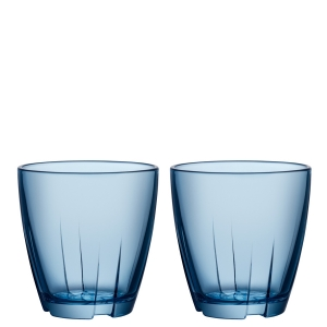 Anna Ehrner: Bruk Blue Small Tumbler, Set of 2