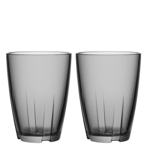 Anna Ehrner: Bruk Grey Large Tumbler, Set of 2