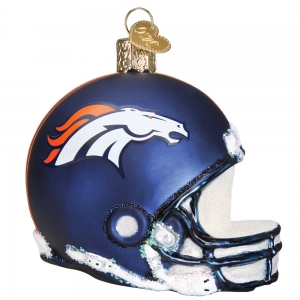 Old World Christmas: Denver Broncos Helmet