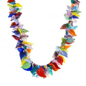 Nirit Dekel: Kaleidoscope of Butterflies Necklace