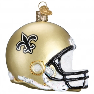 Old World Christmas: New Orleans Saints Helmet