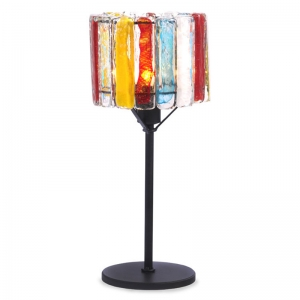 Red Label: Multicolor Table Lamp