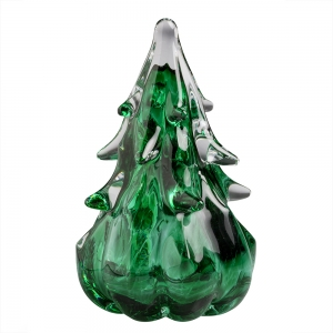 Anchor Bend Glassworks: 4 Inch Tree, Green
