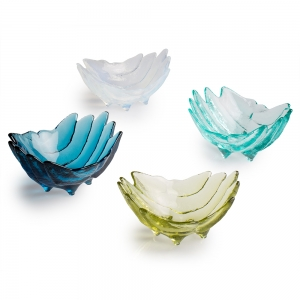 Hudson Beach Glass: Adrift Bowl