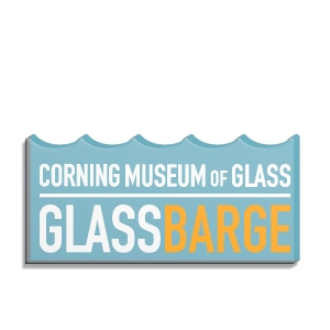 Corning Museum of Glass: GlassBarge Magnet