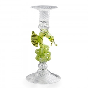 William Gudenrath: Green Dragon Candlestick
