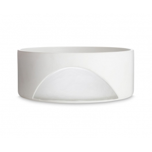 Tom Dixon: Carved Bowl, White