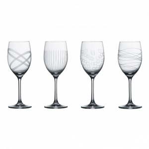 Royal Doulton: Party Goblets, Set of 4