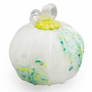 Chrissy Lapham: Color Burst Green & Blue Pumpkin