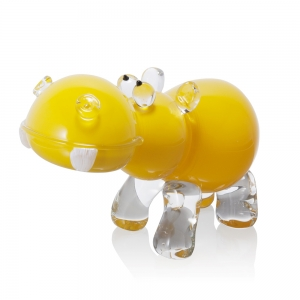 Catherine Labonte: Hippopotamus, Opaque Yellow