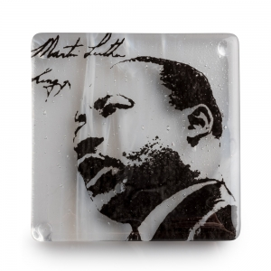 Kiku Handmade: Dr. Martin Luther King Jr. Coaster