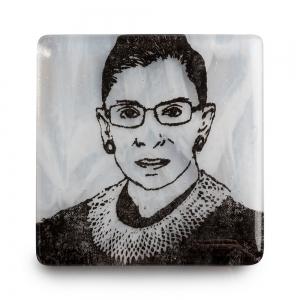 Kiku Handmade: Ruth Bader Ginsberg Coaster