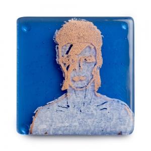 Kiku Handmade: David Bowie Coaster