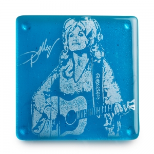 Kiku Handmade: Dolly Parton Coaster