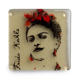 Kiku Handmade: Frida Kahlo Coaster