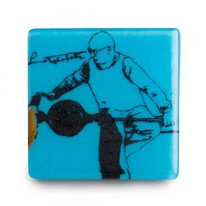 Kiku Handmade: Lino Tagliapietra Coaster