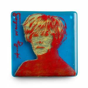 Kiku Handmade: Andy Warhol Coaster
