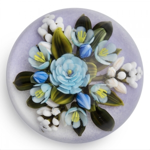 Cathy Richardson: Blue & White Bouquet Paperweight