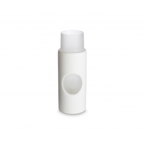 Tom Dixon: Small Carved Vase, White