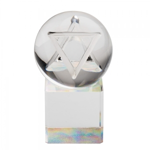 Mark Matthews: Star of David Sphere with Dichro Base