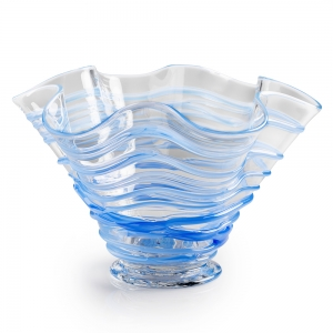 G. Brian Juk: Bowl, Light Blue