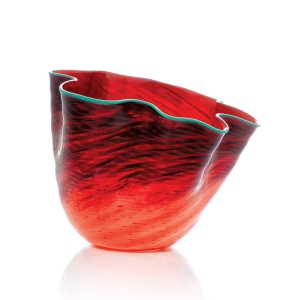 Chihuly Workshop: Tuscan Red Seaform, 2018 Studio Edition
