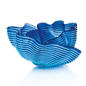 Chihuly Workshop: Capri Blue Seaform, 2018 Studio Edition
