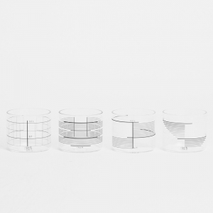 Derek Derksen: Mixed Glasses, Set of 4
