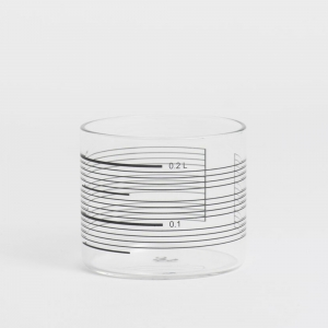 Derek Derksen: Single Line Glasses, Set of 4