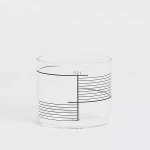 Derek Derksen: Square Lines Glasses, Set of 4