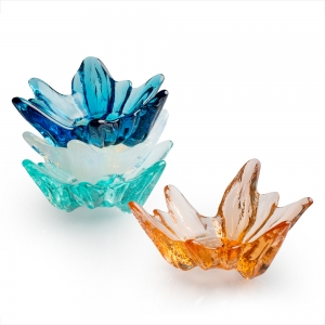 Hudson Beach Glass: Hibiscus Tea Bowl