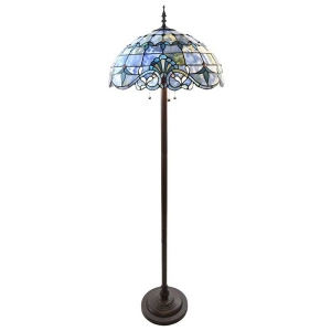 River of Goods: Allistar Blue Floor Lamp