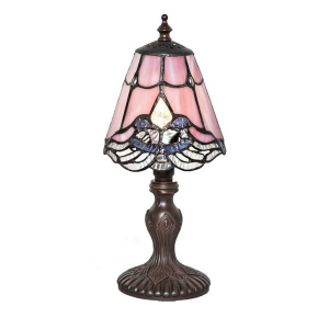 River of Goods: Pink Crystal Lace Mini Lamp