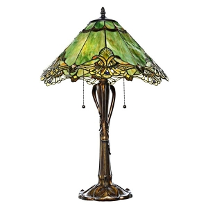 River of Goods: Green Lace Table Lamp