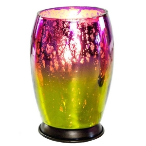 River of Goods: Purple and Green Small Lamp