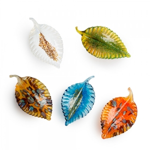 Vessel Studio Glass: Leaf
