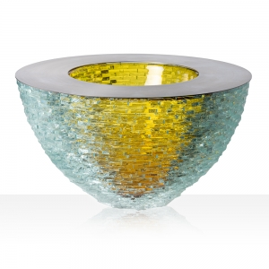 Matthew Curtis: Gold & Ruby Constructed Bowl
