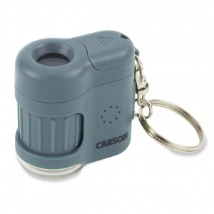 Carson Optical: MicroMini 20x Pocket Microscope, Blue